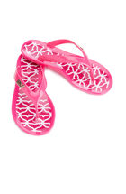 Whale Tail Jelly Flip Flops