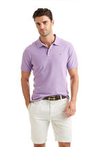 Slim-Fit Heathered Pique Polo