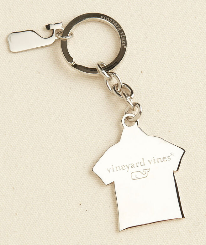 Popped Collar Polo Key Chain