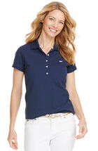 Short-Sleeve Shoreline Polo
