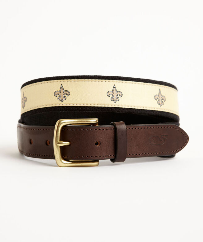 New Orleans Saints Canvas Club Belt