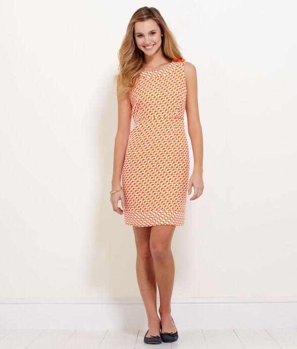 Geo Fish Dress