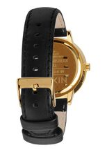 Kensington Leather, Gold / Black