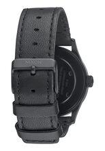 Sentry 38 Leather, Black / White