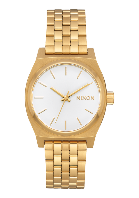 Medium Time Teller, All Gold / White