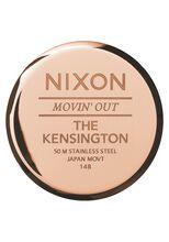 Kensington Leather, Rose Gold / White