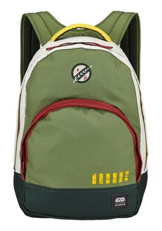 Mochila Grandview Star Wars, Boba Fett Green
