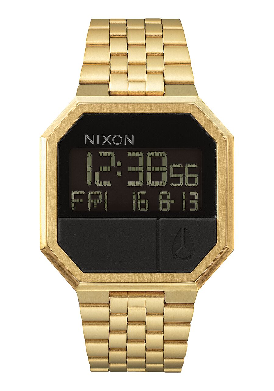 men s digital watches nixon watches and premium accessories re run all gold