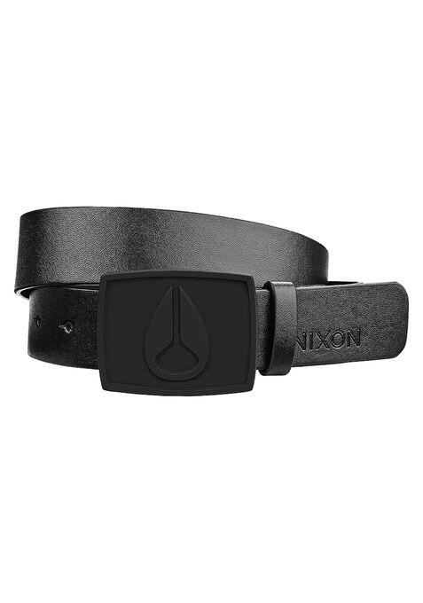 Enamel Icon II Belt, All Black