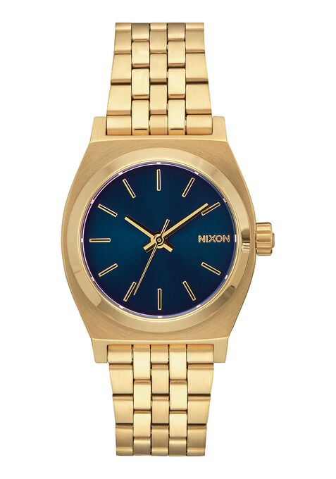 Medium Time Teller, All Light Gold / Cobalt