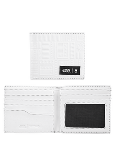 Showoff Leather Wallet SW, Stormtrooper White