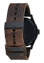 Sentry Leather, All Black / Brown / Brass