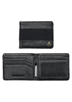 Escape Bi-Fold Clip Wallet, Black / Black