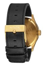 Sentry Leather, Gold / Black