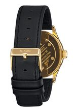 Sentry 38 Leather, Gold / Black Sunray