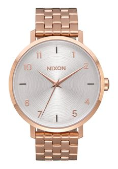 Arrow, All Rose Gold / White