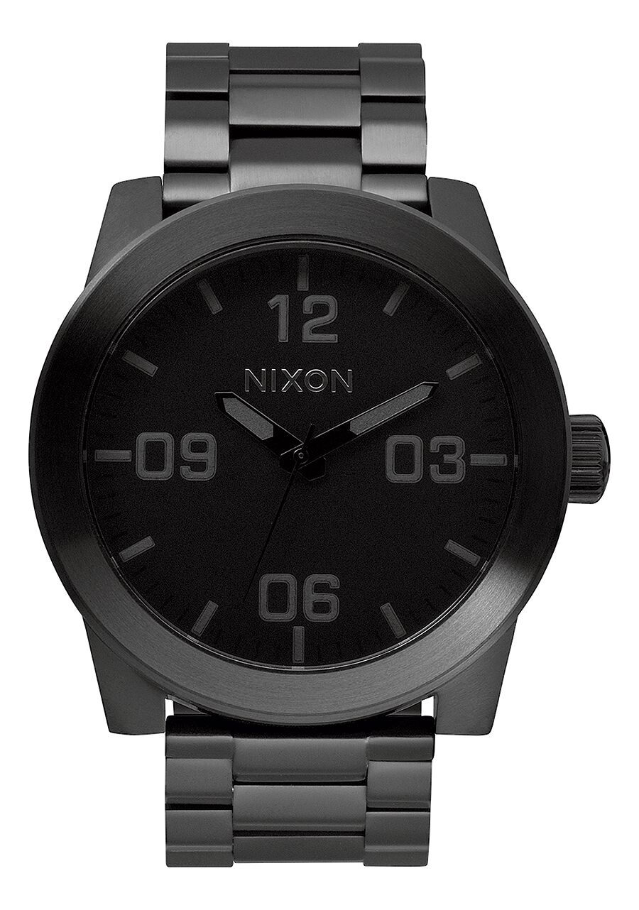 corporal ss men s watches nixon watches and premium accessories corporal ss all black