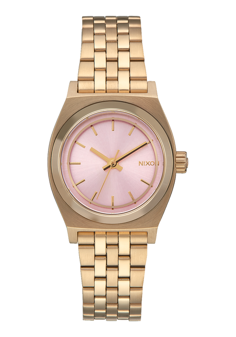 Small Time Teller, Light Gold / Pink