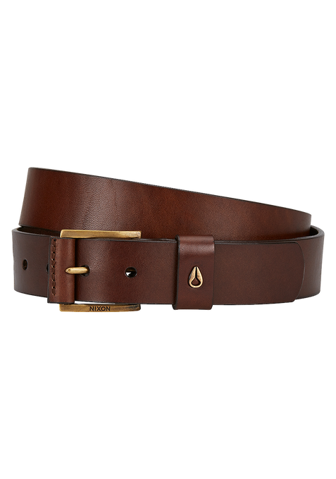 Americana Mid SE Belt, Black / Brown