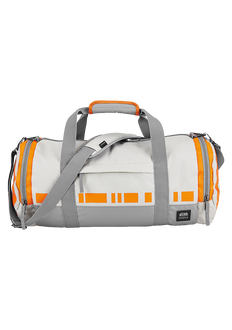 Barrel Duffle Star Wars, BB-8 Silver / Orange
