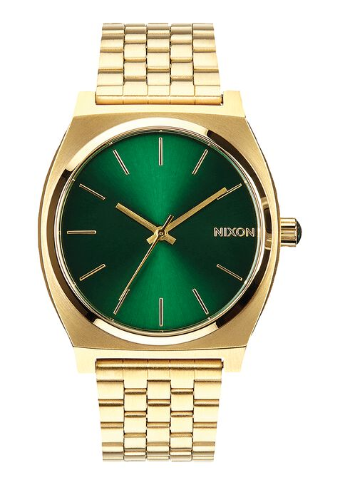 Time Teller, Gold / Green Sunray