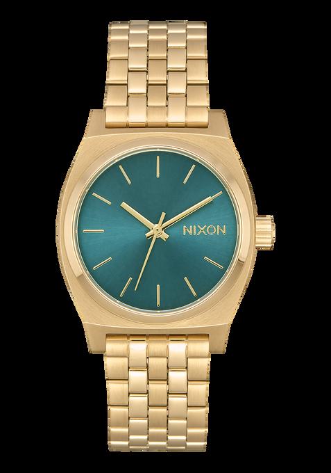 Medium Time Teller, Light Gold / Turquoise