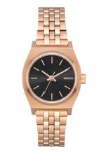 Small Time Teller, All Rose Gold / Black Sunray