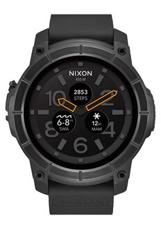 men s watches nixon watches and premium accessories mission all black