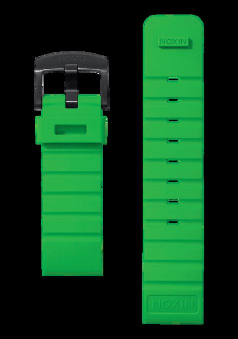 Mission Band, Bright Green / Black