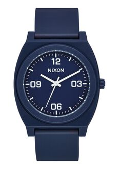Time Teller P Corp, Matte Navy / White