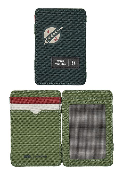 Atlas Magic Wallet SW, Boba Fett Green