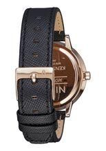 Kensington Leather, Rose Gold / Black