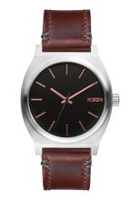 Time Teller, Gray / Rose Gold / Brown