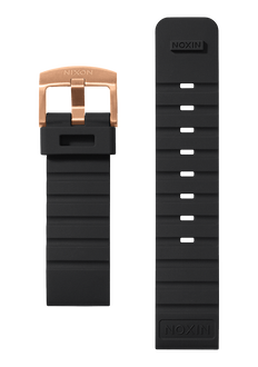 Mission Band, Black / Rose Gold
