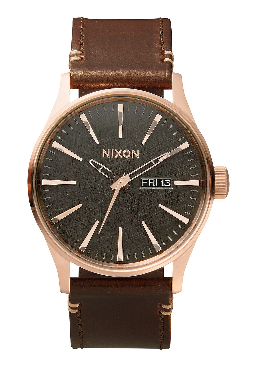 Sentry Leather | Men's Watches | Nixon Watches and Premium ...