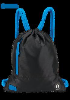 Everyday Cinch Bag, Black / Blue / Float