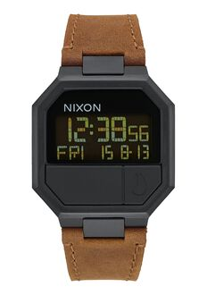 Re-Run Leather, All Black / Brown