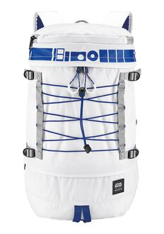 Mochila Drum Star Wars, R2D2 White