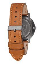 Porter Leather, Gunmetal / Charcoal / Taupe