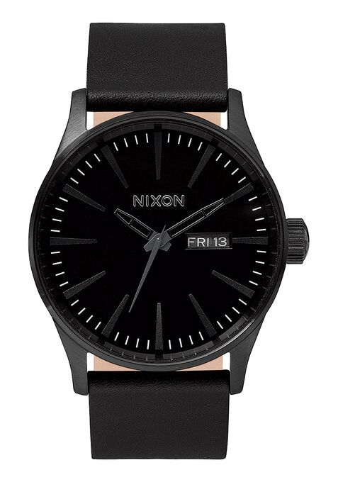 Sentry Leather, All Black