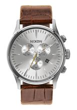 Sentry Chrono Leather, Saddle Gator