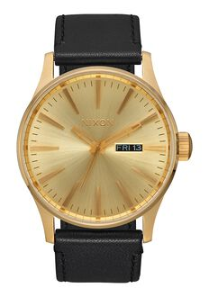 Sentry Leather, All Gold / Black