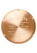 Time Teller, Rose Gold / Gunmetal / Brown