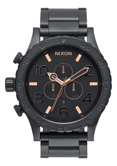 51-30 Chrono, All Black / Rose Gold