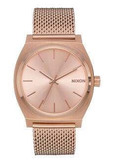 Time Teller Milanese, All Rose Gold