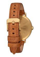 Arrow Leather, Gold / White / Saddle