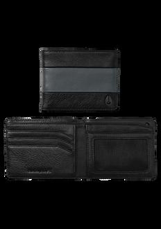 Cape Bi-Fold Wallet, Black / Charcoal