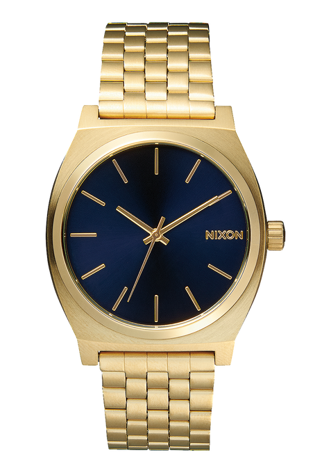 Time Teller, All Light Gold / Cobalt