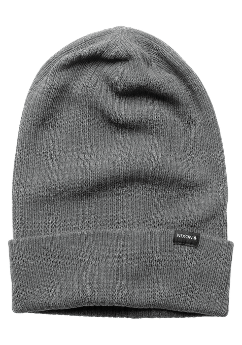 Tower Beanie, Heather Gray
