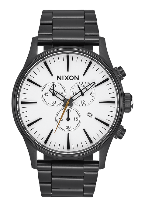Sentry Chrono, All Black / White